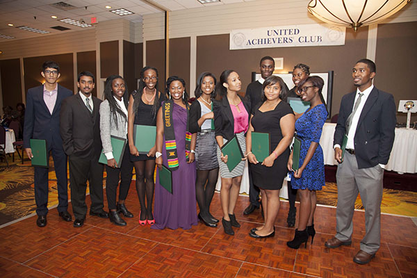 Students Receive United Achievers' Scholarships