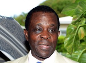 Grenada's Prime Minister and former Chair of CARICOM, Dr. Keith Mitchell.
