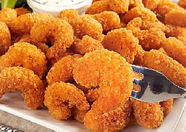 Caribbean Style Popcorn Shrimp