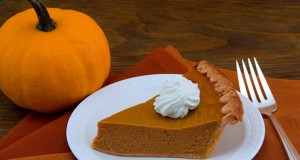 Pumpkin Pie with Maple Whipped Cream and Pumpkin-Seed Brittle