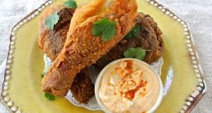 Buttermilk-Brined Fried Chicken Masala