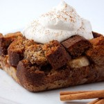 Honey-Cinnamon Banana Bread Pudding
