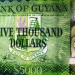 Guyana Launches 5,000 Dollar Note