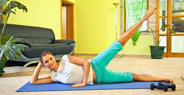 Фитнес как похудеть в домашних условиях