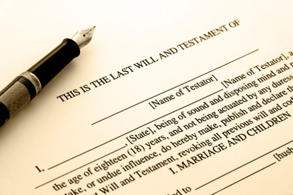 Writing Your Will Keeps You In Control