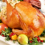 Bourbon-Glazed Turkey with Pearl Onion Giblet Gravy