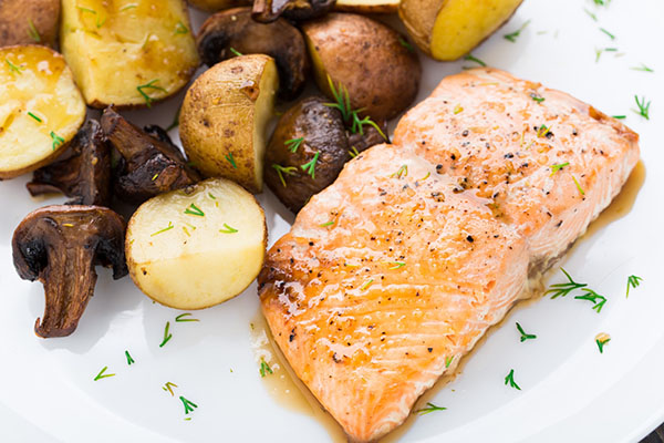 Slow-Roasted Salmon
