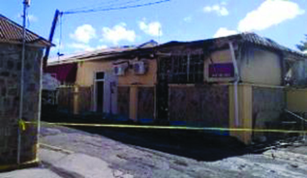 Another Mysterious Fire Destroys Nevis Government Building