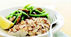 Almond-Crusted Tilapia
