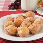 Easy Lemon Donut Holes