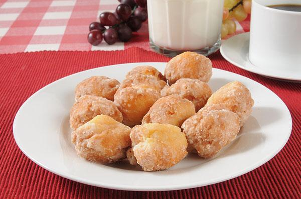 Easy Lemon Donut Holes