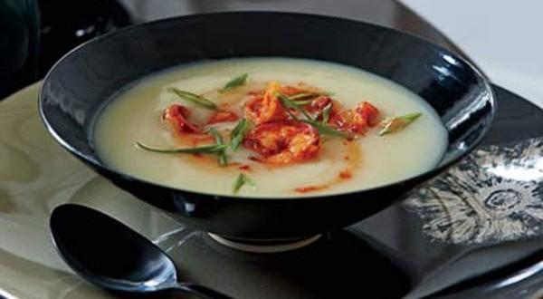 Potato Soup with Spicy Shrimp | Pride News Magazine