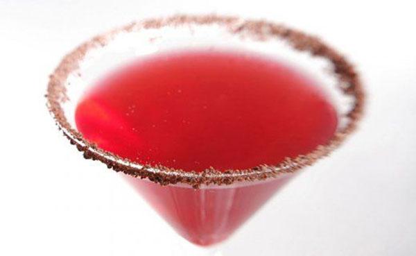 Raspberry Chocolate Kiss Cocktail
