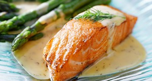 Salmon with Spicy Coconut Sauce