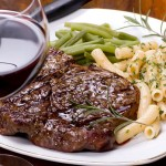 Butter-Basted Rib Eye Steaks