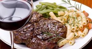 Butter-Basted Rib Eye Steaks
