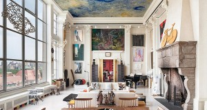 REAL ESTATE…with a difference: New York Artist's Penthouse!