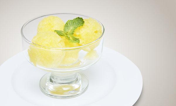 Peach-Lime Sorbet