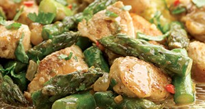 Indian-Spiced Chicken and Asparagus