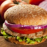 Barbecue-Glazed Turkey Burgers