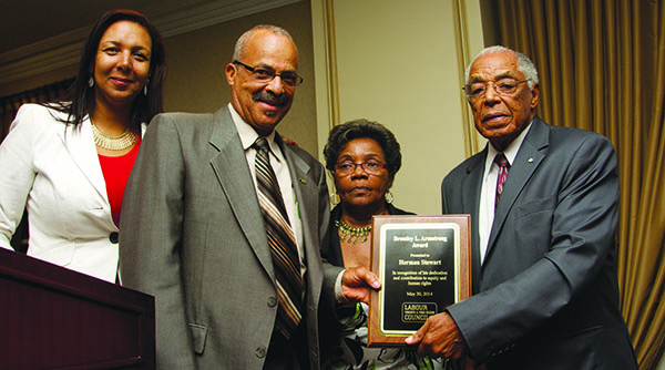 Herman Stewart Named The Recipient Of The Bromley L. Armstrong Award