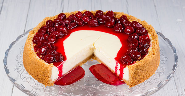 No-Bake Cherry Cheesecake - Pride News