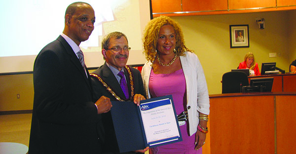Ajax Mayor Proclaims Caribbean Week