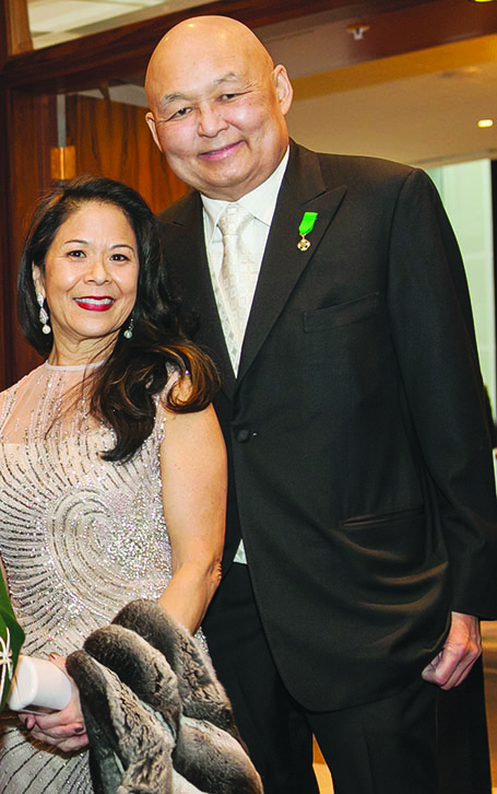 Donette_chin_loy and Raymond_chang -- patron_of_the_uwi_toronto_gala_