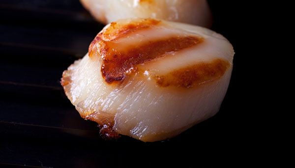 Grilled Sea Scallops