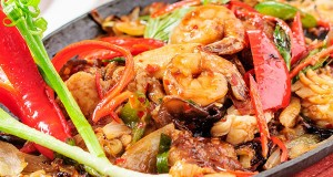 Indian Seafood Stir-Fry