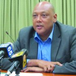 Natural Resources Minister, Raphael Trotman.