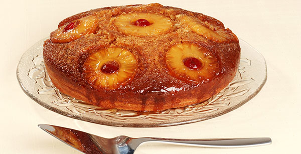 Salted-Caramel Pineapple Upside-Down Cake