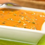 Sweet Potato-Peanut Bisque