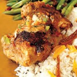 African Chicken in Peanut Sauce