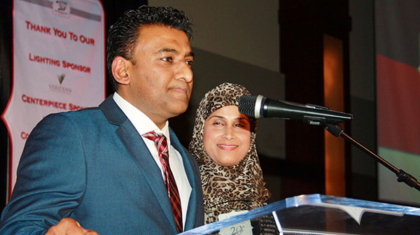 Guyana-born Ashmeed Khan Receives Ajax-Pickering Board Of Trade's 2014 Business Person Of The Year Award
