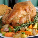 Herb and Lemon Stuffed Turkey