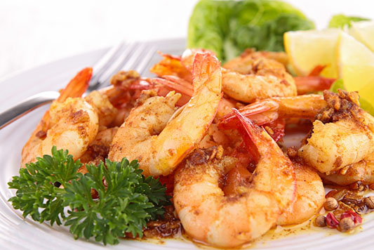 Lemon Hot Pepper Shrimp - © Can Stock Photo Inc. - margouillat