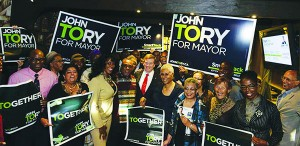 """Black Supporter Says John Tory """"Will Deliver As Mayor Of Toronto"""""""