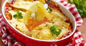 Cheesy Baked Ravioli