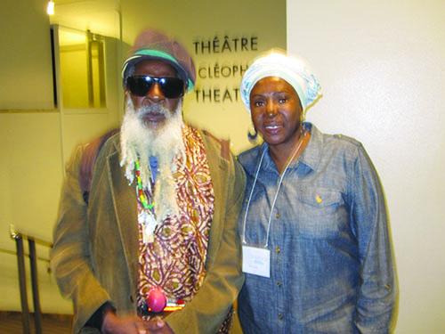 Ras Rico and Afua Cooper
