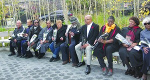 Black History-makers' Legacy Engraved On Benches