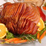 Mango-Glazed Ham