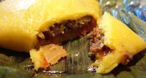 Trinidadian Cornmeal Pastelles