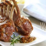 Valentine's Day Recipe: Mustard-Crusted Lamb
