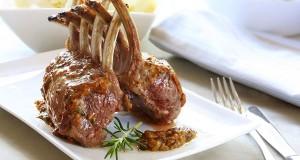 Valentine's Day Recipe: Mustard-Crusted Lamb