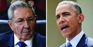 Obama, Castro Hold Historic Meeting