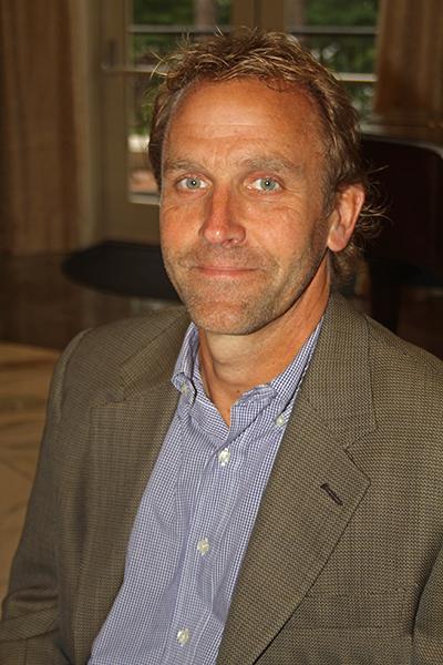 Former naval officer, Randy Nelson.