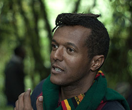 Yared Zeleke, 36-year-old director of 'Lamb', Ethiopia's first entry in France's prestigious Cannes International Film Festival. Photo credit: Courtesy of Slum Kid Films.
