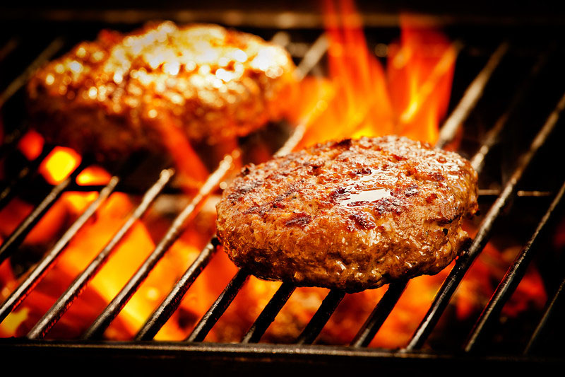 Grilled Burgers -- © Can Stock Photo Inc