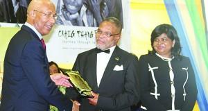 BAD-C Director, Kingsley Gilliam, Receives Diaspora Award Of Excellence